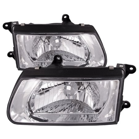 2000-2002 Isuzu Rodeo /Honda Passport Headlights Set IZ2502105 & IZ2503105