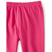 08c624500 Pink Velvet - Unicorn Print and Solid Leggings, 2-Pack (Little Girls ...
