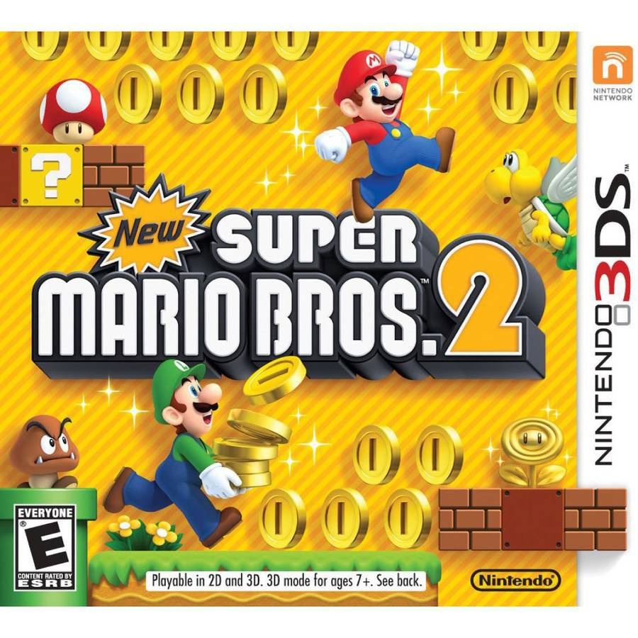 3DS New Super Mario Bros. 2 CTRPABEE