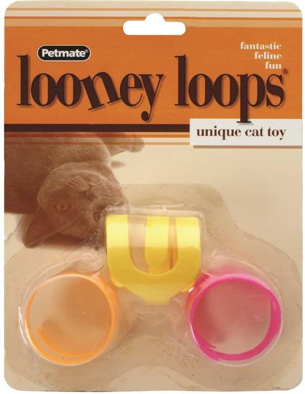 Aspen Pet 26333 Looney Loops Cat Toys, by ASPEN PET
