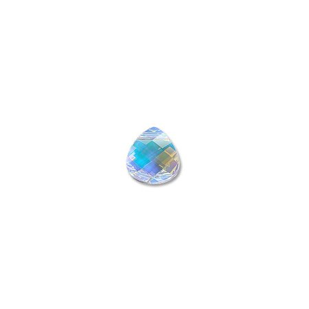 Swarovski Flat Briolette 6012 11x10mm Crystal AB (Package of (Crystal Flat Briolette)