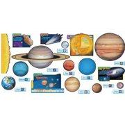 Trend Enterprises Solar System Design Room Decoration Bulletin Board Set