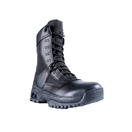 Ridge Footwear 8010ST Men's Air-Tac Ghost Zipper Steel Toe Tactical Boots (Air Footwear)