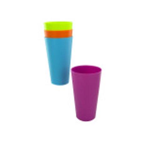 Bulk Buys GC762-24 Plastic Tumblers, 32 oz.