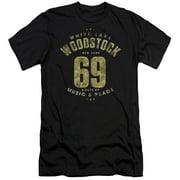 Woodstock - White Lake - Slim Fit Short Sleeve Shirt - X-Large