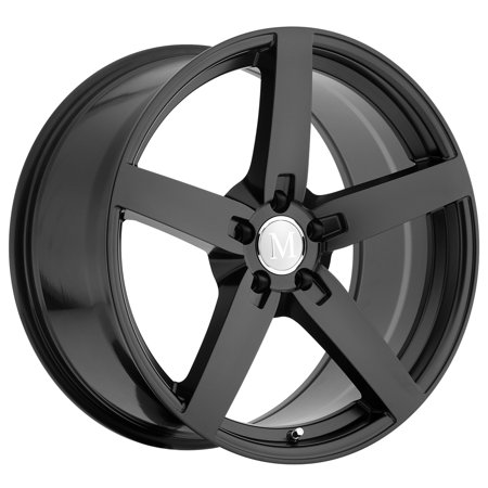 Mandrus Arrow 20x8.5 5x112 +25mm Matte Black Wheel (Mandrus Wheels Rims)