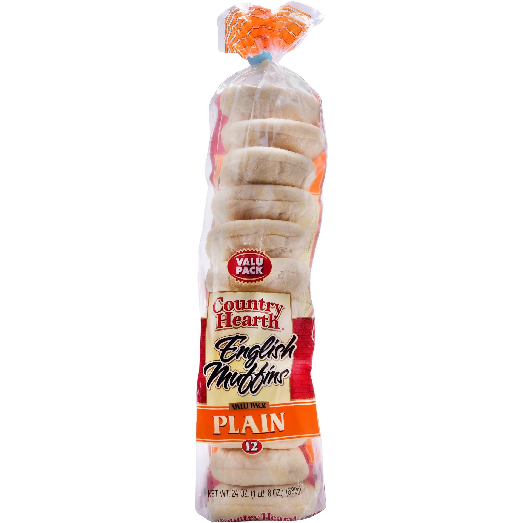 Lakeland English Plain Muffins, 24 oz