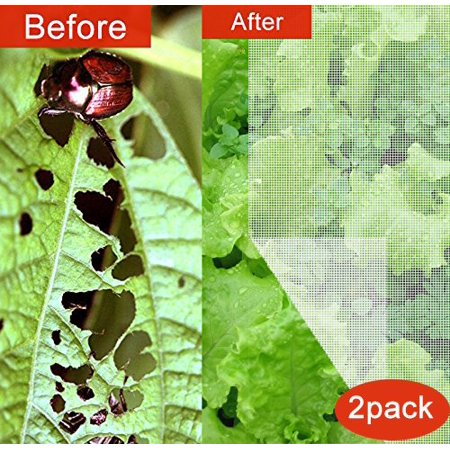 Agfabric Standard Insect Screen & Garden Netting against Bugs, Birds & Squirrels - 10