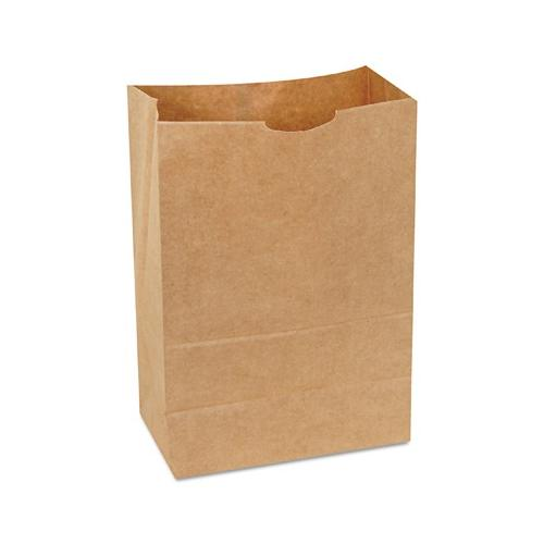General 1/6 Bbl 65 Paper Bag, Natural Kraft Grocery Sack, Brown, 500-bundle B...
