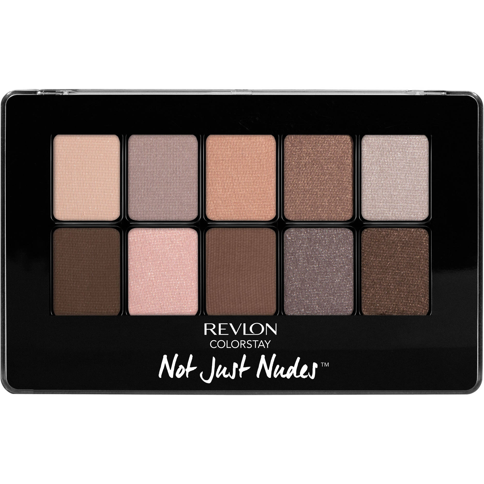 Revlon ColorStay Not Just Nudes Eye Shadow Palette, 0.5 oz