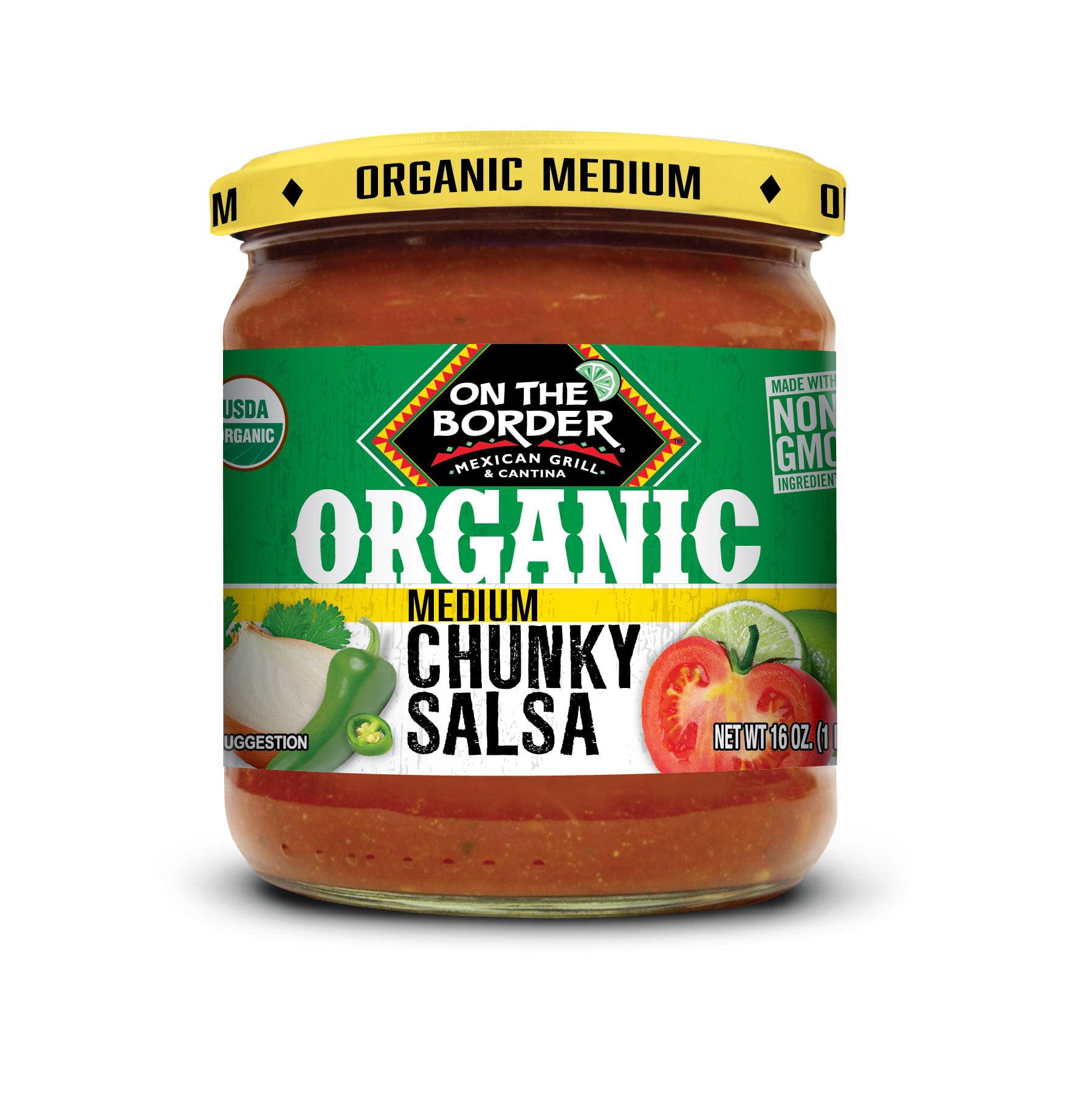 Truce Enterprises On The Border Organic Salsa, 16 oz