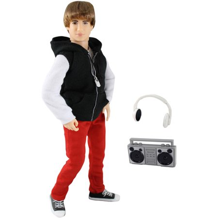 Justin Bieber On the Go Doll - Life Size Justin Bieber Doll