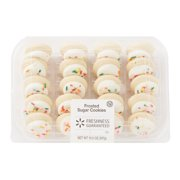Freshness Guaranteed Mini White-Frosted Sugar Cookies, 10.5 oz, 20 Count