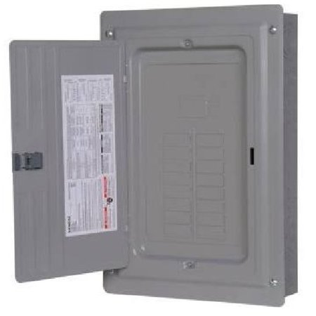 Copper Bus Bar Ratings - Siemens - P1624L1125CU- 125A - Main Lug - 1 Phase - Copper Bus - S/F Mount - 16 Space - 24 Circuit - N1 Indoor - 1P - 3W