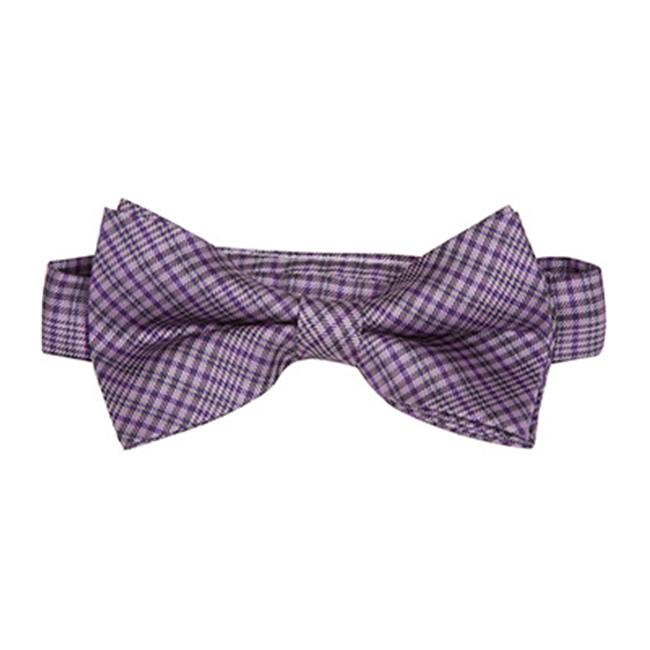 The Matching Tie Guy Men//Boys Microfiber Pink//White Stripes Bowtie Available in All Sizes and Adult 59 Inch Necktie BT6