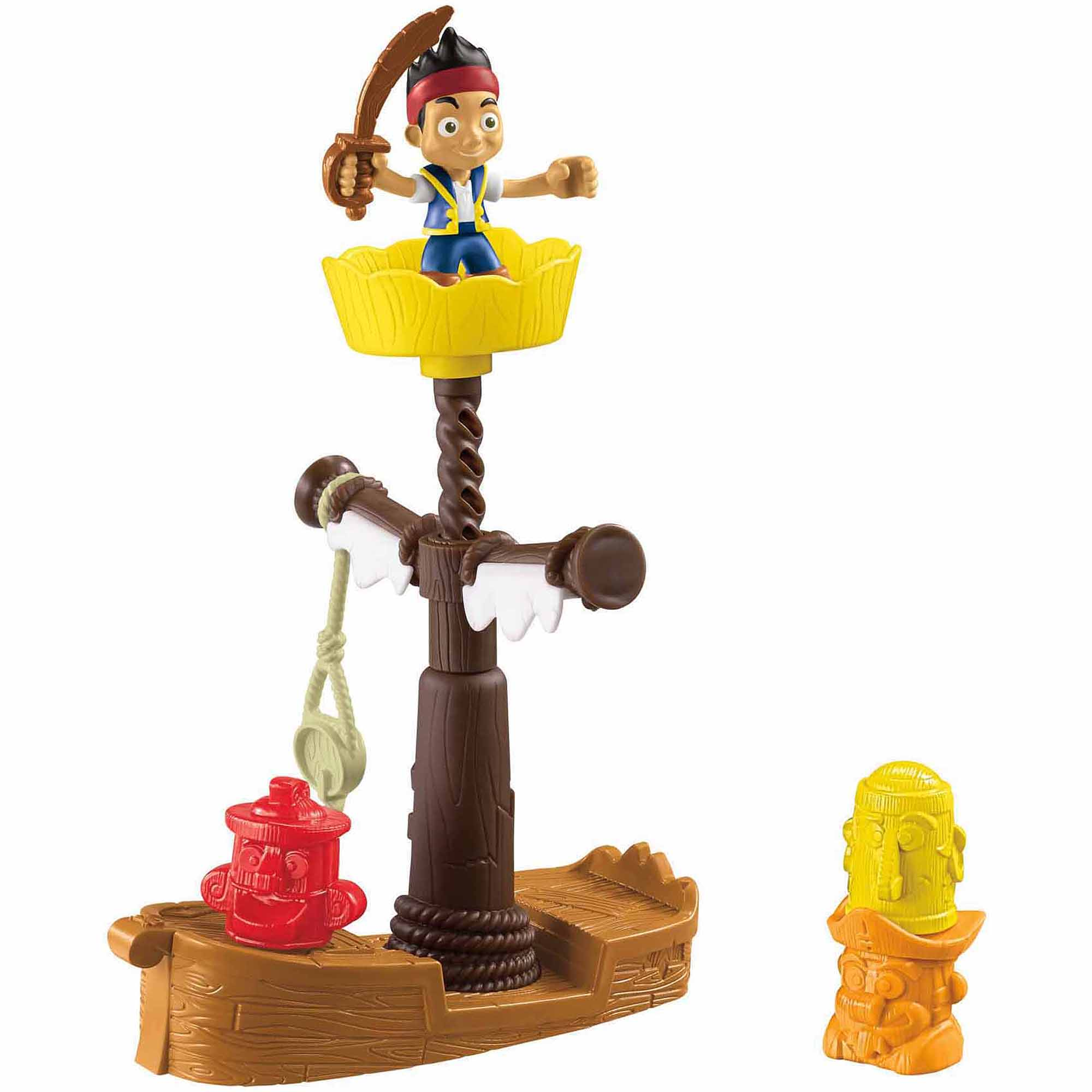 Fisher Price Jake and the Never Land Pirates Spinning Tiki Adventure by SUN YICK PLASTIC PRODUCTS (SZ) CO., LTD