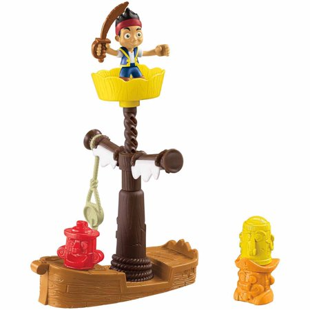 Fisher-Price Jake and the Never Land Pirates Spinning Tiki (Jake And The Neverland Pirates Action Figures)