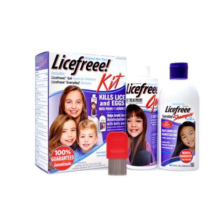 Licefreee Kit (Best Head Lice Shampoos)