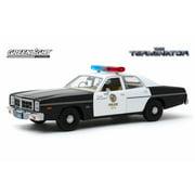 "1977 Dodge Monaco, Metropolitan Police ""The Terminator"" - Greenlight 84101 - 1/24 scale Diecast Model Toy Car"