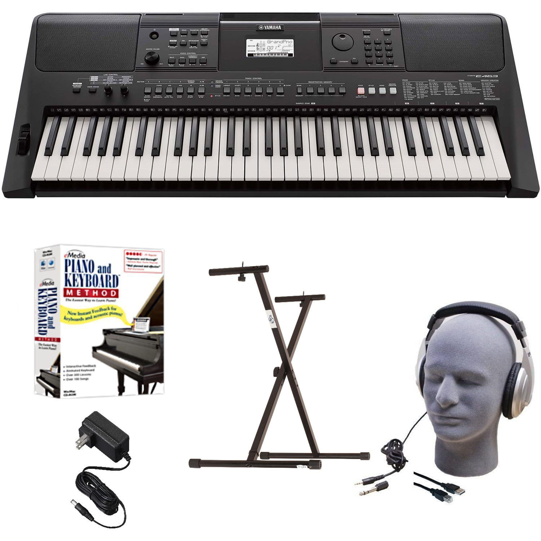Yamaha PSR-E463 EPY Educational Keyboard Pack with Power Supply