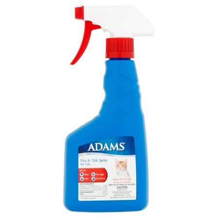 Adams Flea And Tick Spray For Cats 16 Oz Walmart Com