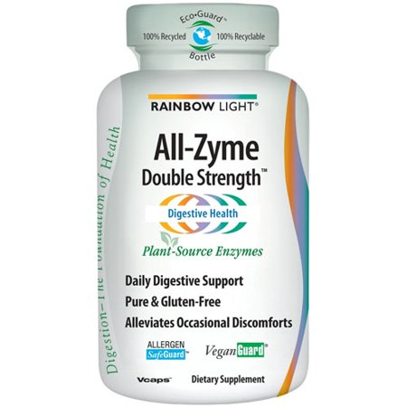 Rainbow Light All Zyme Double Strength Vcaps 60 Ea