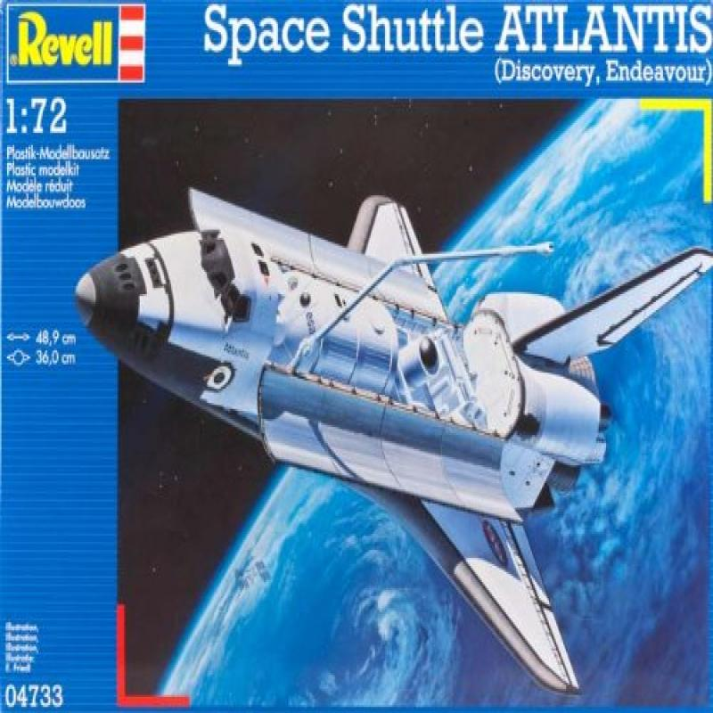 "Revell of Germany Space Shuttle ""Atlantis"" Plastic Model Kit"