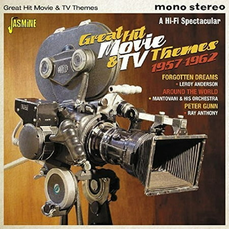 Great Hit Movie & TV Themes 1957-1962 / Various (CD) - Movie Theme
