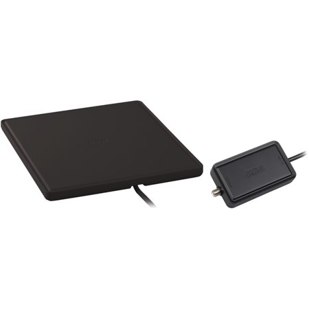 Rca Ant1450bz Multidirectional Amplified Indoor Flat Hdtv Antenna