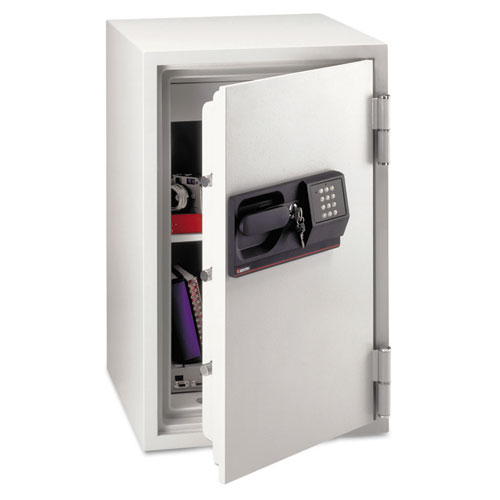 "Electronic Safe, Lock, Shelf, 20-1/2""x22""x34-1/2"", Gray SENS6770"