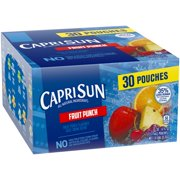 Capri-Sun® Fruit Punch Juice Drink 30-6 fl. oz. Pouches