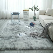 Super Soft Indoor Modern Fur Rugs Fluffy Rugs Anti-Skid Shaggy Area Rug Dining Room Home Bedroom Carpet Floor Mat9(63x79 inch /47x63 inch /32x63 inch)