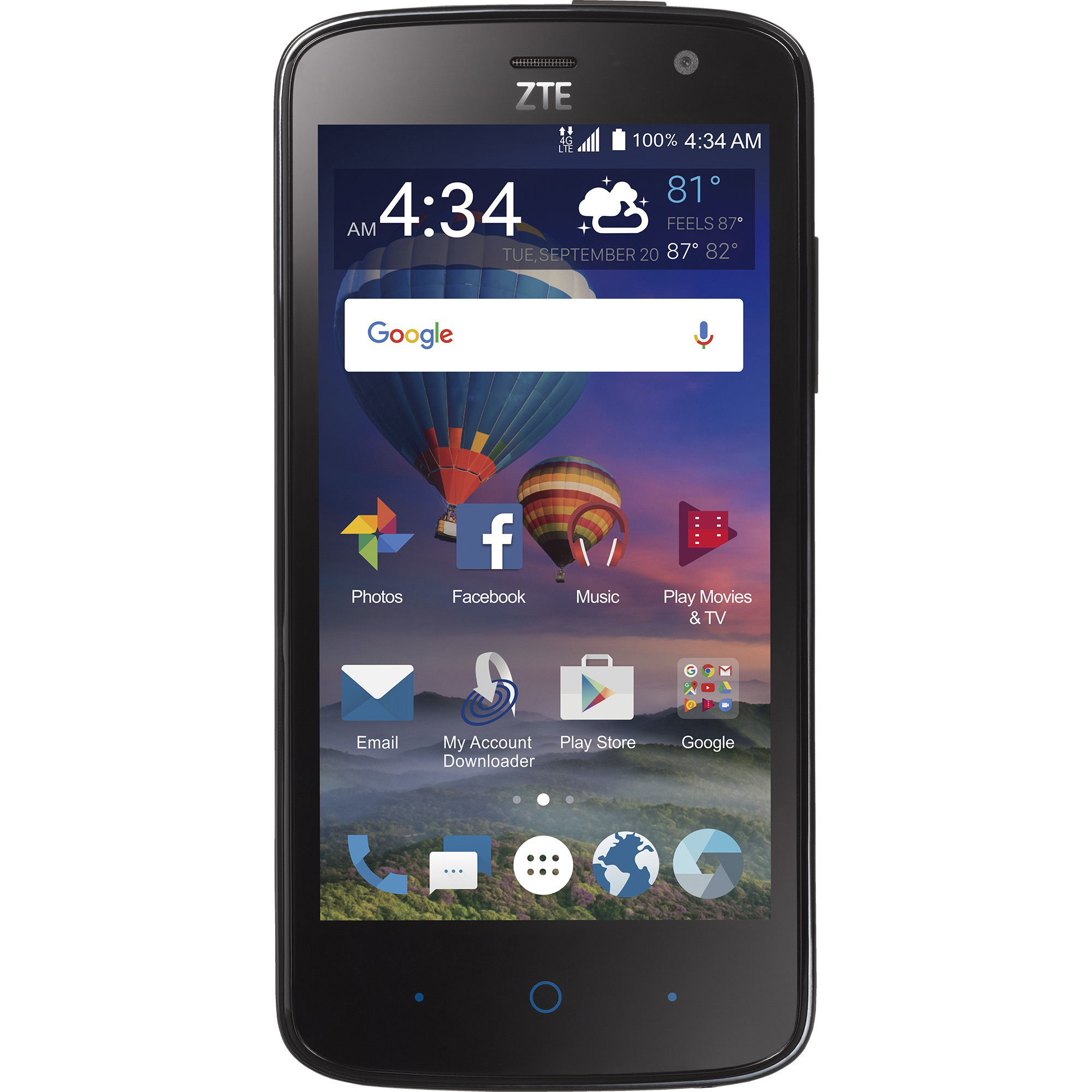 Total Wireless ZTE Majesty Pro Plus Prepaid Smartphone