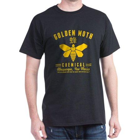 c2dc2adca7a CafePress - Golden Moth Chemical Breaking Bad T-Shirt - 100% Cotton T-Shirt  - Walmart.com