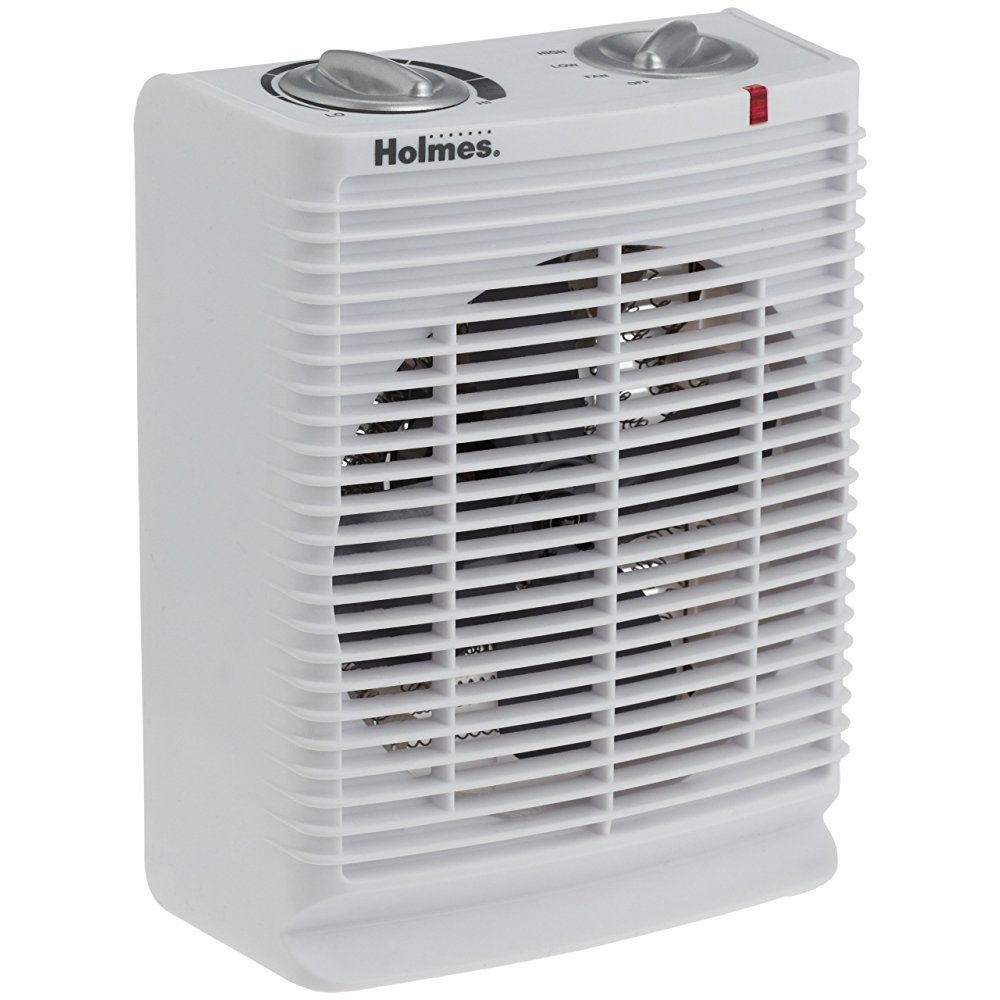 Holmes PortIle Desktop Heater with Comfort Control Thermostat and Cool-Touch Housing, HFH111