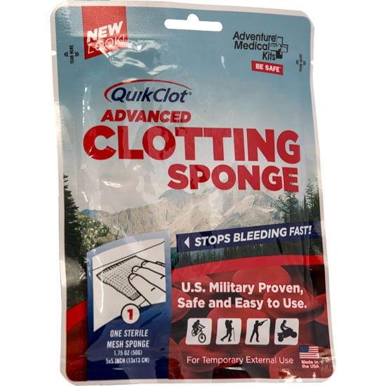 Adventure Medical QuikClot Advanced Clotting Sponge, 50g ...