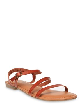 Scoop Juliet Asymmetrical Flat Sandal Women's