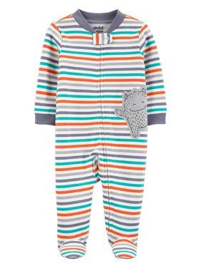 Child of Mine by Carter's Zip-up Sleep N Play Pajama (Baby Boys)