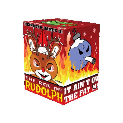 Kidrobot Rise Of Rudolph Holiday Christmas Mini Vinyl Figure