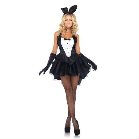 Leg Avenue Tux & Tails Bunny Adult Womens Costume - Bunny Tuxedo
