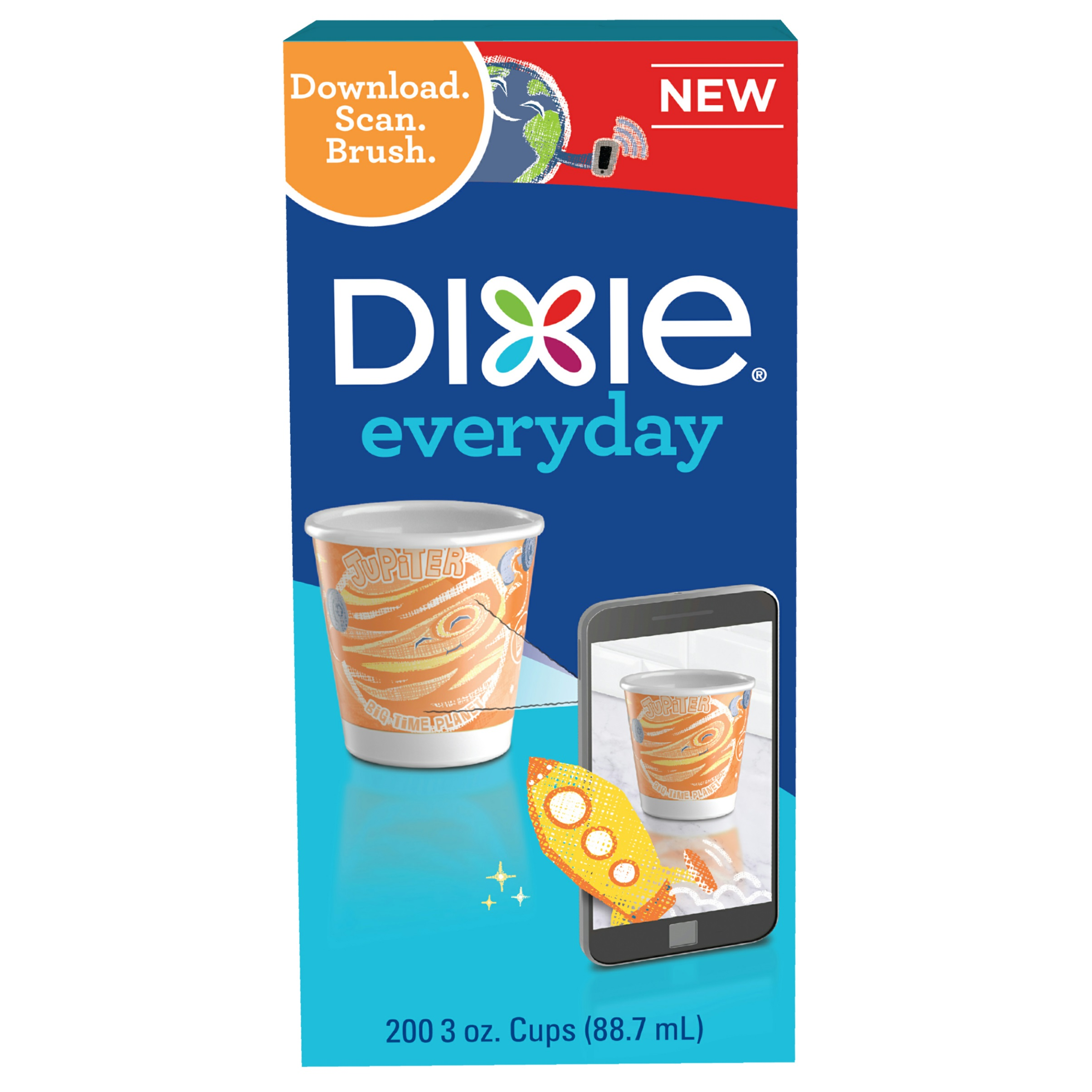 Dixie Everyday Bath Cups, 3 Oz, 200 Ct