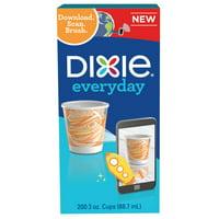 Dixie Paper Bath Cups, 3 oz, 200 Count