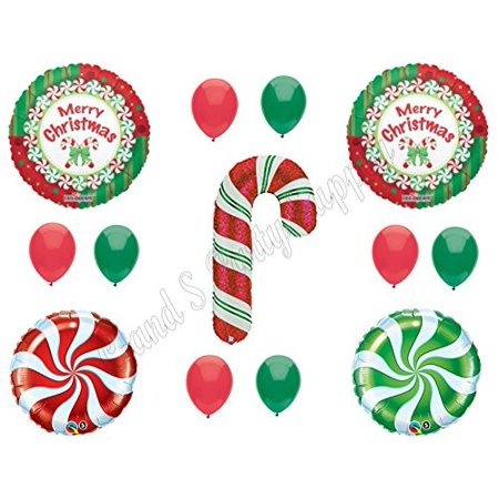 candy cane christmas balloons birthday party decoration supplies parade cookie exchange - Christmas Cookie Decorating Supplies