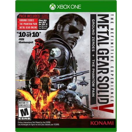 Metal Gear Solid V: The Definitive Experience for Xbox One Konami (Metal Gear Solid 2 Raiden)