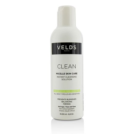 Velds   Clean Micelle Skin Care Instant Cleansing Solution   All Skin Types  Even Sensitive   200Ml 6 8Oz