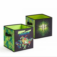 Teenage Mutant Ninja Turtles 2 Pack Storage Cubes