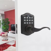 Honeywell Electronic Entry Lever Door Lock, ORB