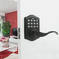 Honeywell Electronic Entry Lever Door Lock, ORB