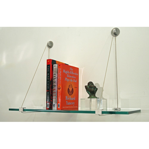 Spancraft Glass Floating Floating shelf
