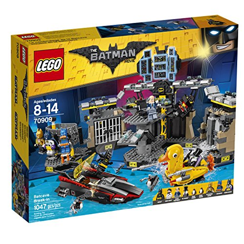 Lego Batman Movie Batcave Break-in 70909 by Lego